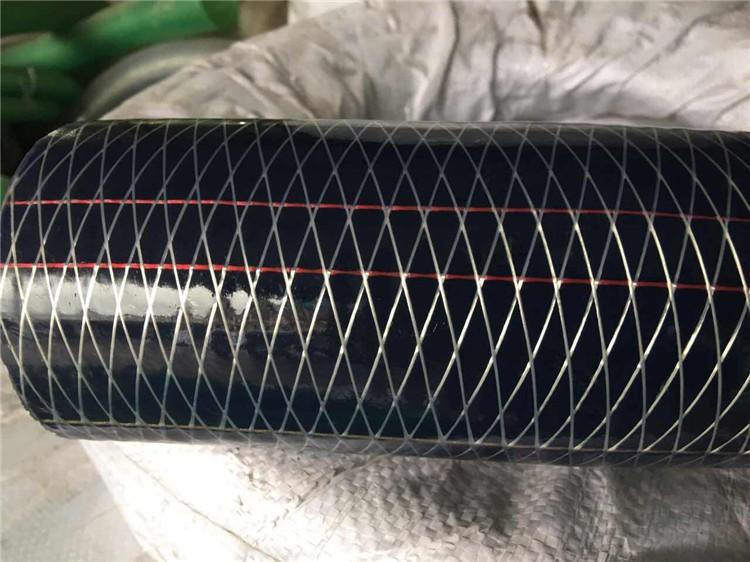 高效透明聚乙烯钢丝增强软管