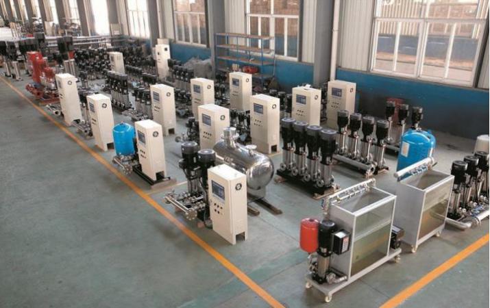 杭州专业无负压供水设备图片_源头厂家