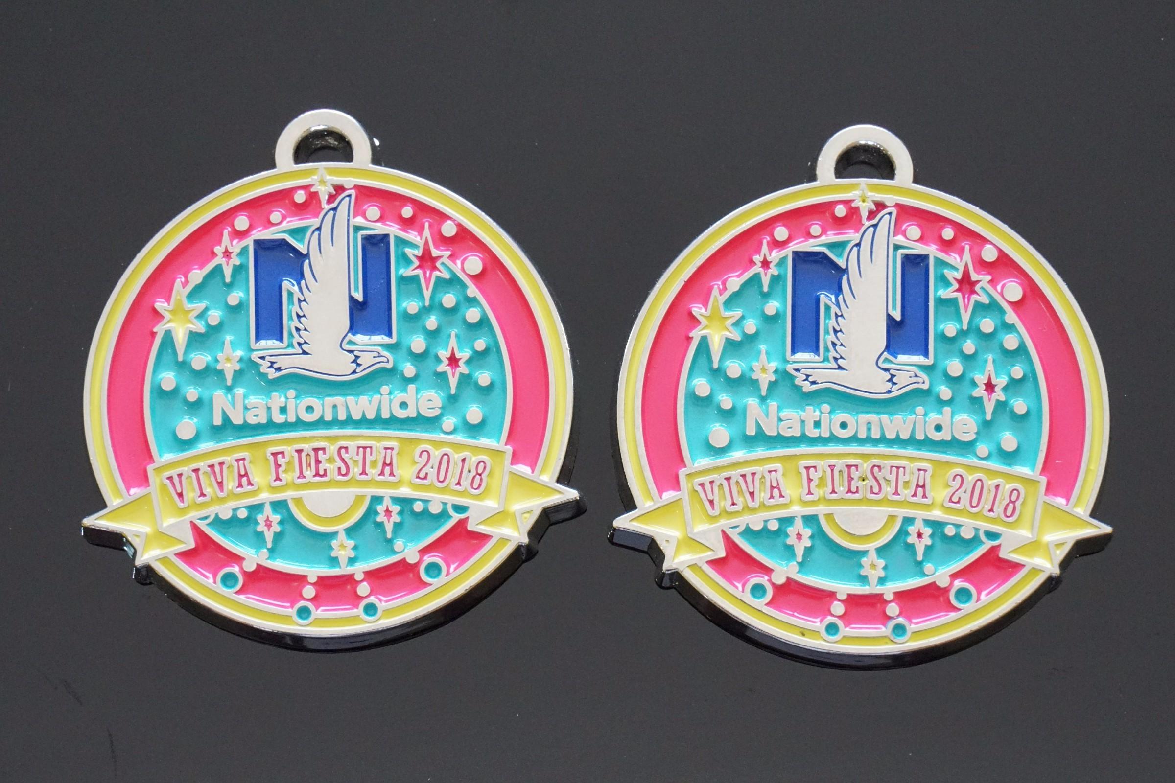 滑雪纪念奖牌专业生产