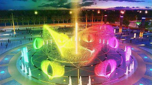 葫芦岛全新喷泉制作