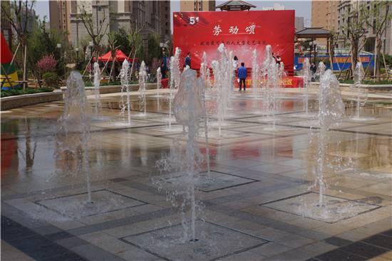 西安全新音乐喷泉设备设计_非标定制