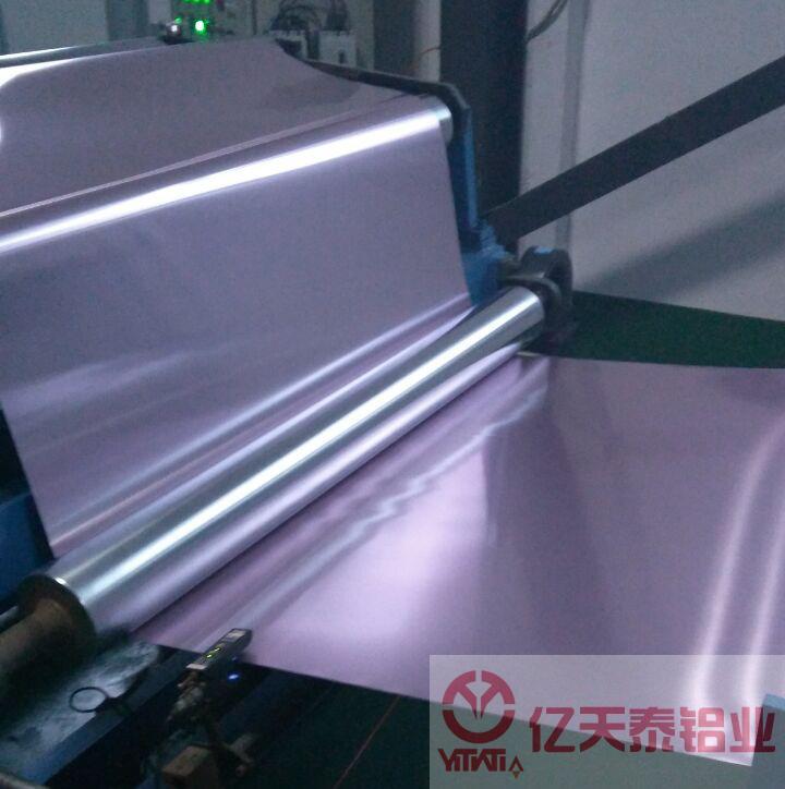 襄樊透明聚氨酯涂层铝箔