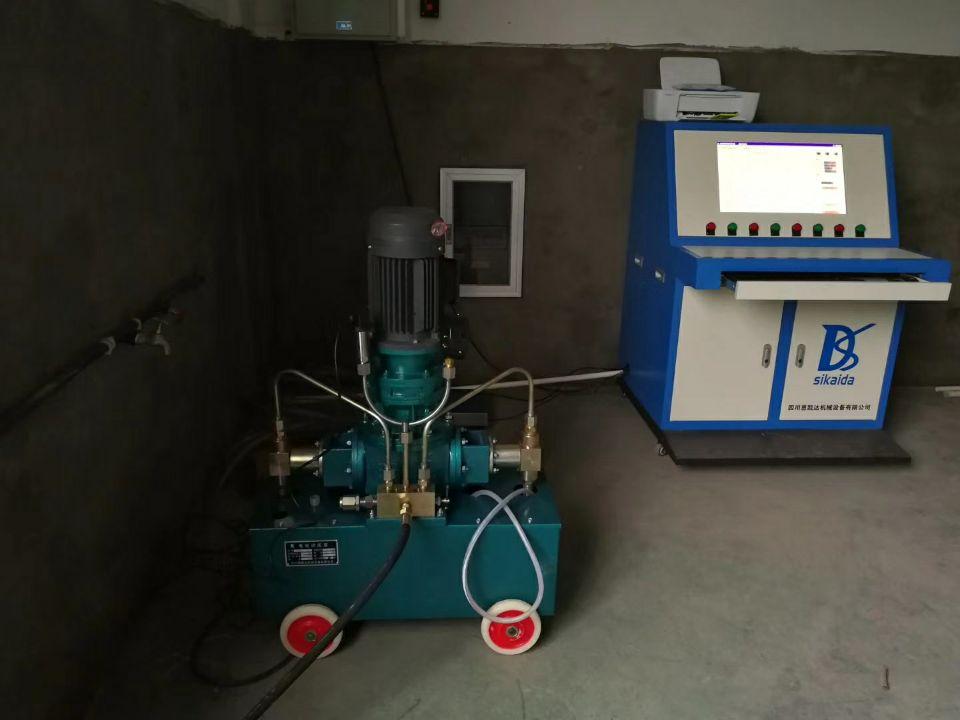 大流量QY140-J气动试压泵智能无线采集系统厂家_厂家直销