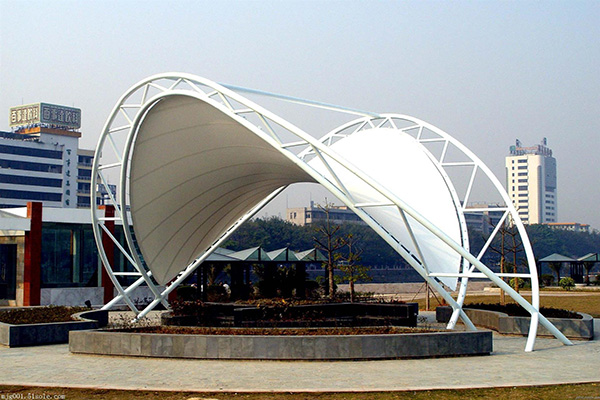 高阳特价膜结构通道