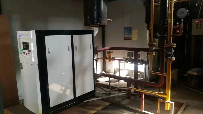 沧州专业硅铸铝模块锅炉现场图