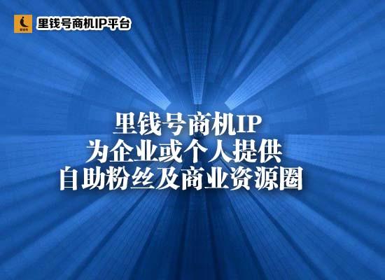 徐州商业价值上里钱号商机IP平台
