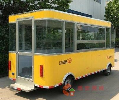 常德规模大的简易美食房车方案来电咨询