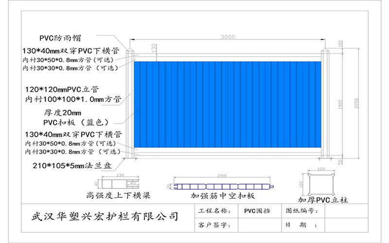 松江施工工地pvc围挡价格/工地围挡图片华塑兴宏【厂家直销】